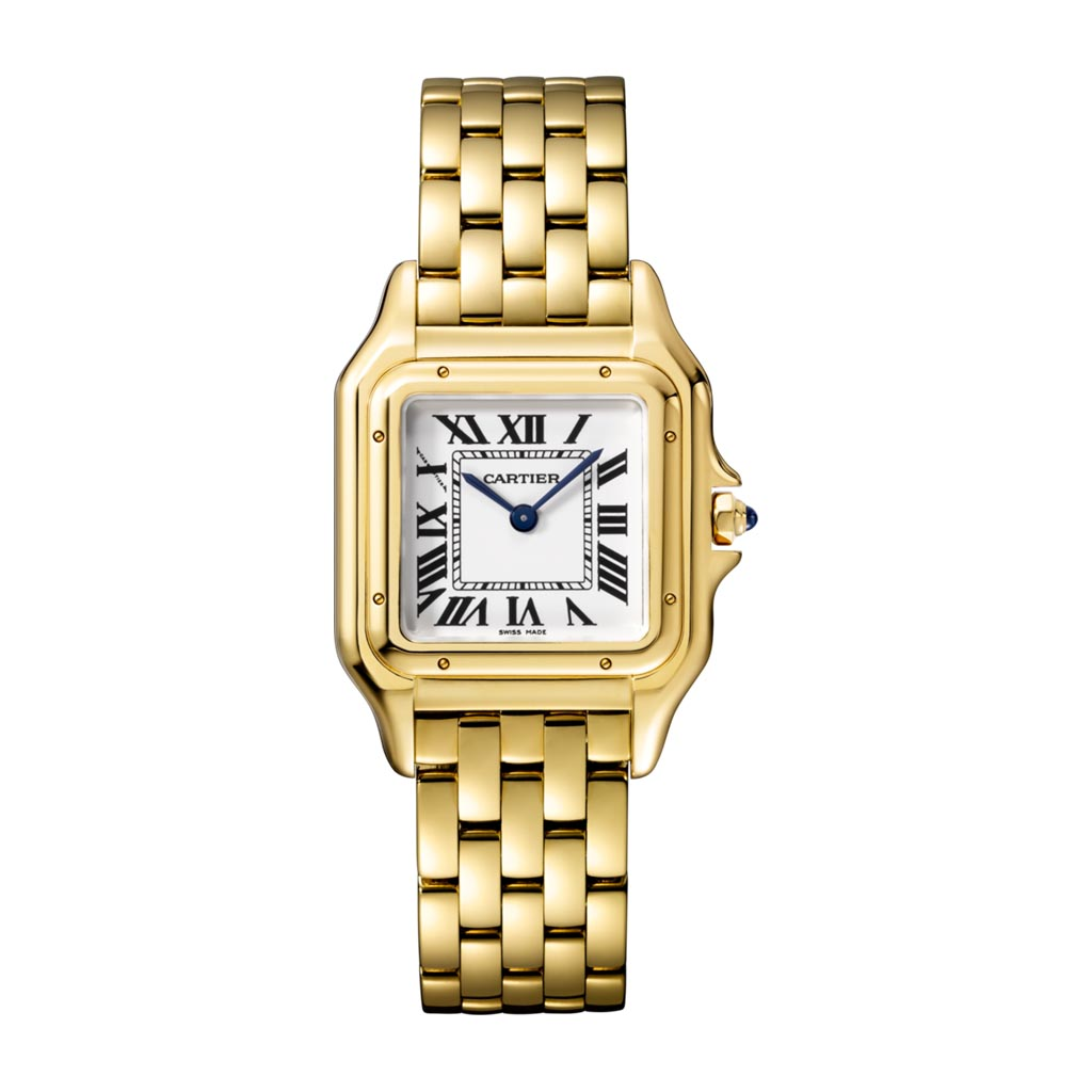 Panthere De Cartier Yellow Gold Medium Watch