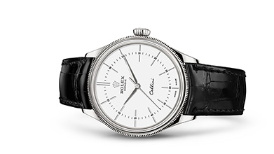 CELLINI TIME 39 mm, 18 kt white gold, polished finish