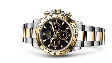 COSMOGRAPH DAYTONA Oyster, 40 mm, steel and yellow gold