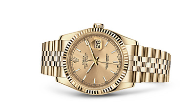 DATEJUST 36 Oyster, 36 mm, yellow gold