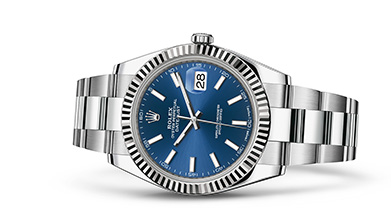 DATEJUST 41 Oyster, 41 mm, steel and white gold
