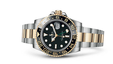 GMT-MASTER II Oyster, 40 mm, Oystersteel and yellow gold