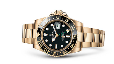 GMT-MASTER II Oyster, 40 mm, yellow gold