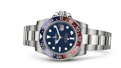 GMT-MASTER II Oyster, 40 mm, white gold