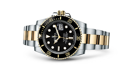 SUBMARINER DATE Oyster, 40 mm, Oystersteel and yellow gold