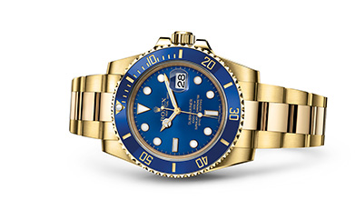 SUBMARINER DATE Oyster, 40 mm, yellow gold 2