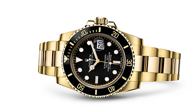 SUBMARINER DATE Oyster, 40 mm, yellow gold