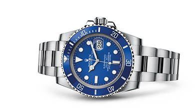 SUBMARINER DATE Oyster, 40 mm, white gold