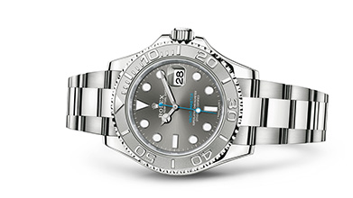 YACHT-MASTER 40 Oyster, 40 mm, steel and platinum
