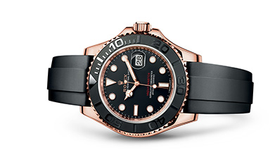 YACHT-MASTER 40 Oyster, 37 mm, Everose gold