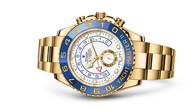 YACHT-MASTER II Oyster, 44 mm, yellow gold