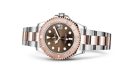 YACHT-MASTER 37 Oyster, 37 mm, steel and Everose gold