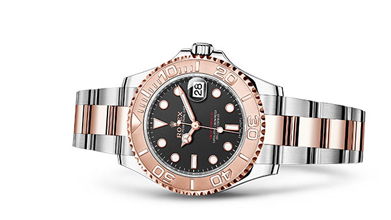 YACHT-MASTER 37 Oyster, 37 mm, Oystersteel and Everose gold