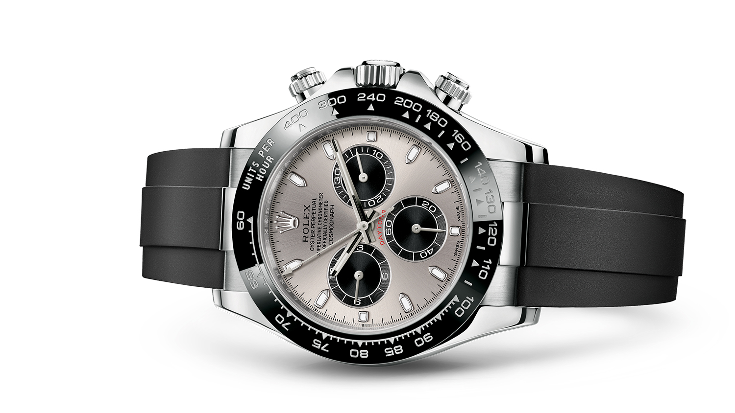 COSMOGRAPH DAYTONA Oyster, 40 mm, white gold