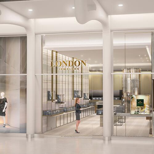 Westfield World Trade Center Oculus Manhattan store